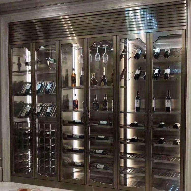 恒温不锈钢酒柜
